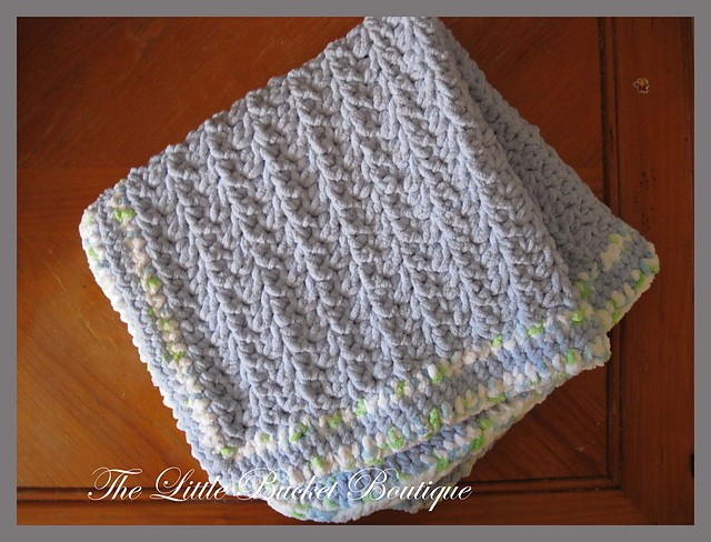 Free Pattern Simply Stunning Baby Blanket Knit And