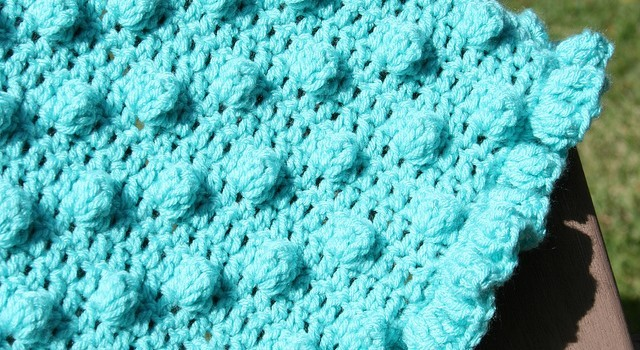Free Pattern Super Simple And Adorable Bobble Stitch Pattern