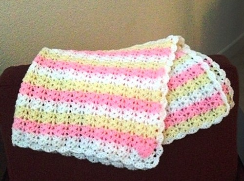[Free Pattern] Amazing Baby Afghan That Will Take Your Breath Away