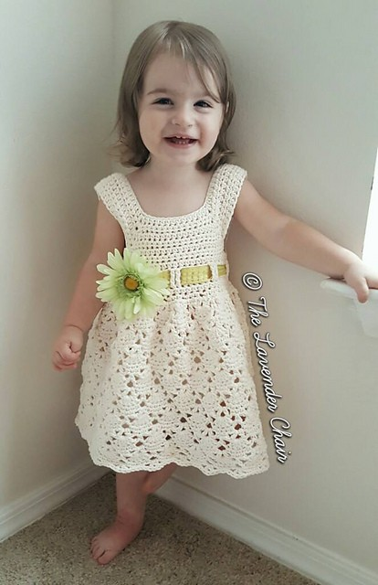 [Free Pattern] The Perfect Little Crochet Dress For Your Little Ones