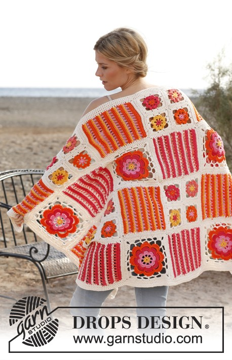 [Free Pattern] This Lacy Orange Blossom Crochet Afghan Blanket Is Amazing!
