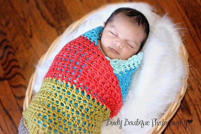 [Free Pattern] Super Fun And Quick Weekend Baby Blanket