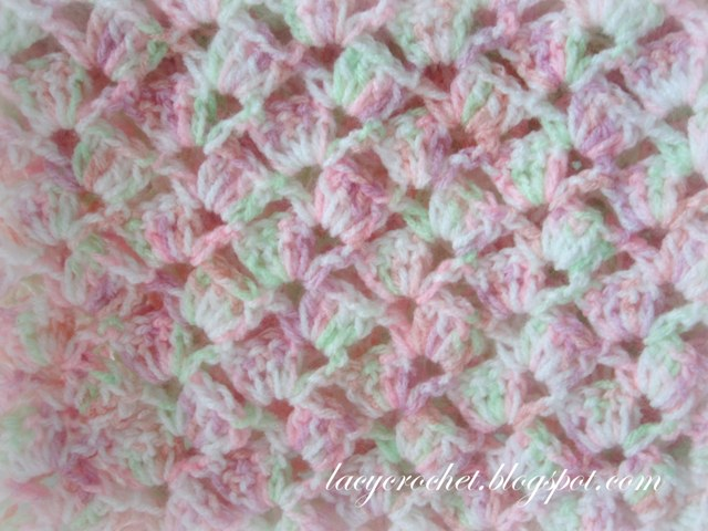 Free Crochet Pattern Lacy Baby Blanket : [Free Pattern] This Quick And Easy Crochet Baby Blanket ...