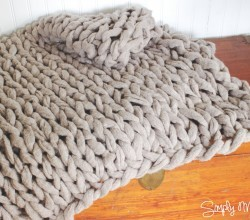 The Fastest Way To Make A Chunky Style Blanket