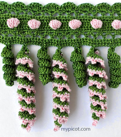 [Free Pattern] This Twisted Crochet Fringe Is Absolutely Beautiful And Easier Than It Looks