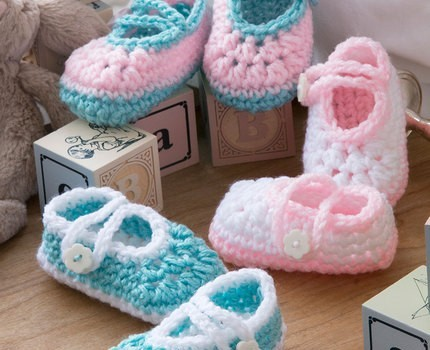 Free Pattern Super Easy Quick Crochet Baby Booties Thatll Make