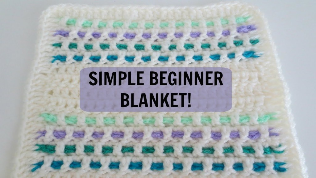 [Video Tutorial] Easy And Stunning Crochet Blanket For Beginners