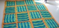 [Free Pattern] Super Fast And Really Beautiful, This Wavy Baby Blanket Is Amazing