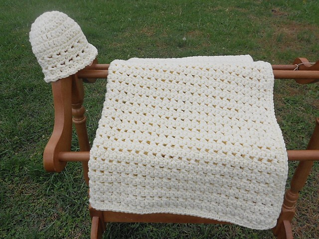 Paid Pattern Super Simple And Adorable Jiffy Crochet Baby Blanket