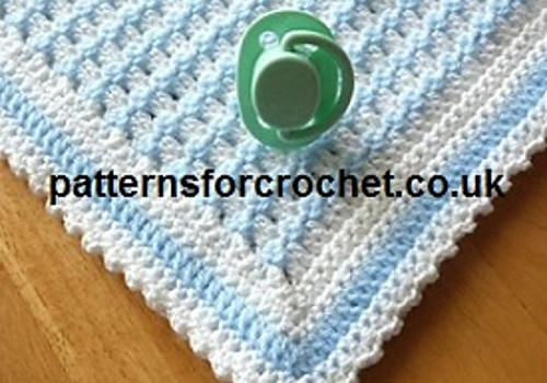 Free Pattern This Gorgeous Baby Blanket Pattern Creates A Simple