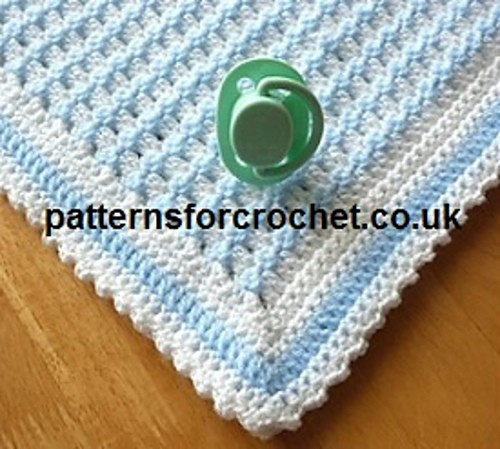 [Free Pattern] This Gorgeous Baby Blanket Pattern Creates A Simple And Delightful Texture