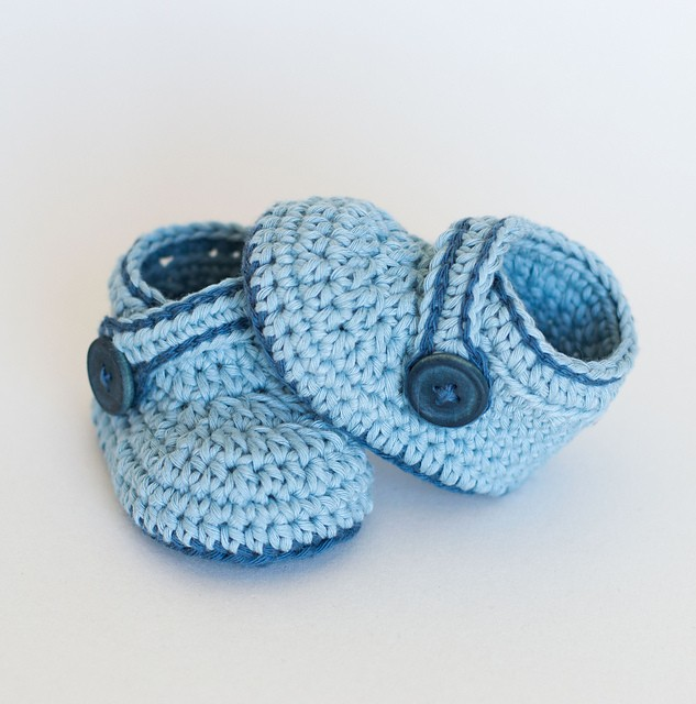 [Free Pattern] Beautifully Designed And Really Easy To Make Baby Booties