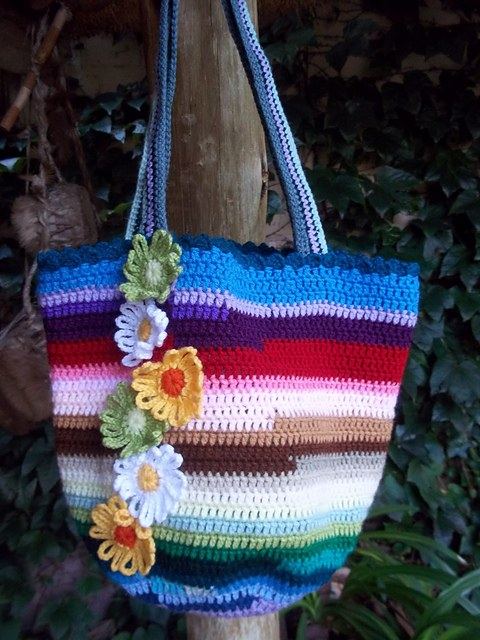 [Free Pattern] A Marvelous Pattern For A Super-Cute And So Practical Crochet Bag