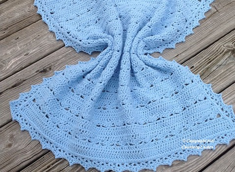 Free Pattern Simple Yet Beautiful This Baby Blanket Is Simply