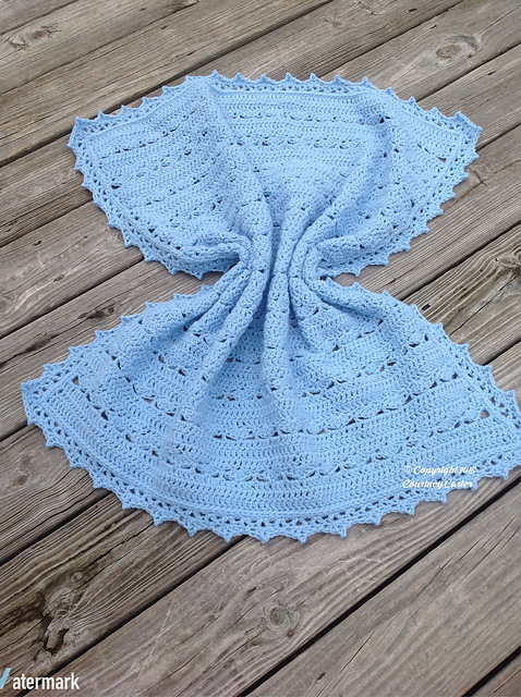 [Free Pattern] Simple Yet Beautiful, This Baby Blanket Is Simply Stunning