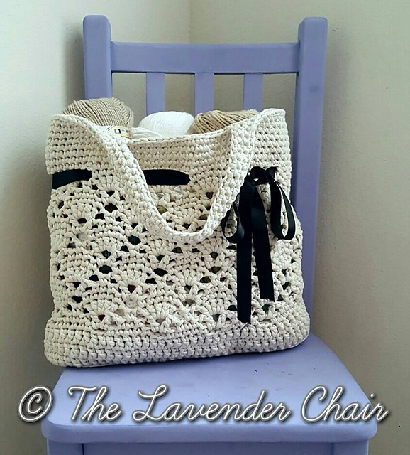 [Free Pattern] Classy And Cool Market Tote You Can Use Every Day