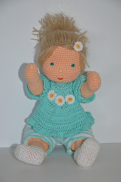 [Free Pattern] This Adorable Waldorf Inspired Baby Doll Makes A Perfect Gift For Any Baby Girl Who Adores Dollies
