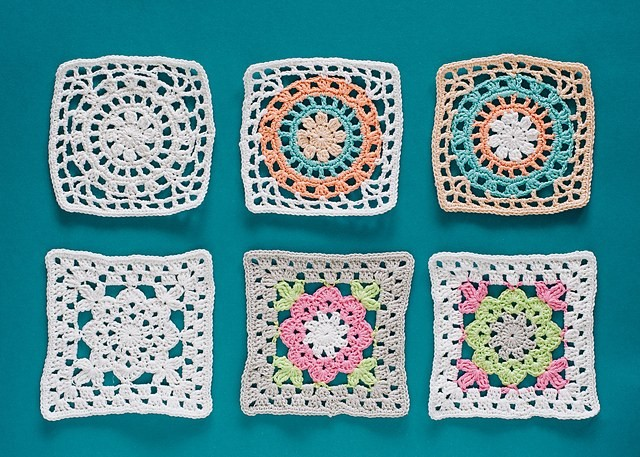 [Free Pattern] Give Your Table A Truly One-Of-A-Kind Look With These Fabuous Crochet Granny Square Coasters