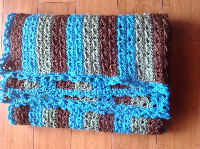 [Free Pattern] Insanely Cute And Simple Crochet Baby Blanket With A Twist