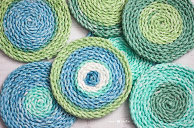 [Free Pattern] Simple And Beautiful, These Crochet Coasters Are Great For Quick Gifts!