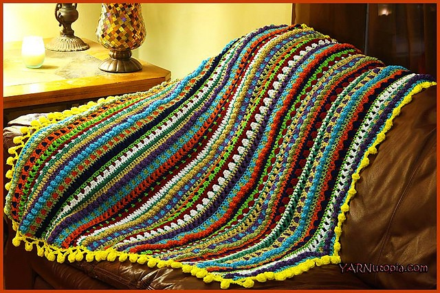 Color Pop Baby Blanket by Nadia Fuad