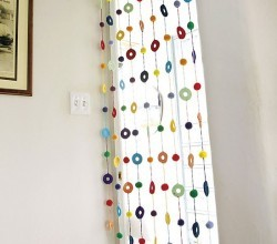 Colorful Noren Curtain