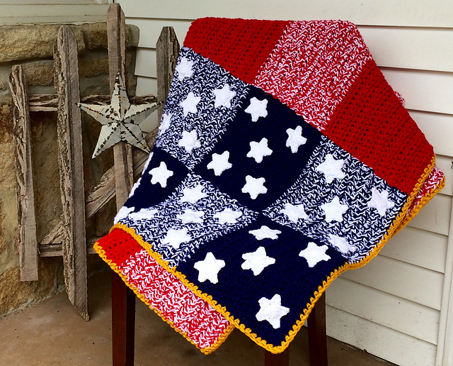 Free Pattern Brilliant Way To Crochet A Gorgeous Patchwork Spangled