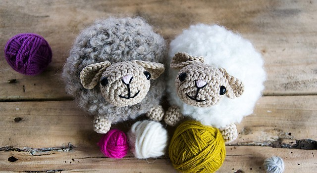 Crocheted sheep pattern | 350x640