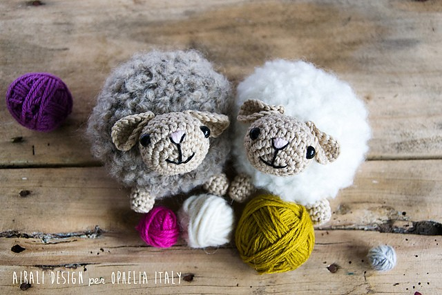 [Free Pattern] Super Fluffy And Soft Amigurumi Sheep