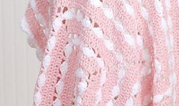 Quick Easy And Very Pretty Free Crochet Baby Blanket Pattern