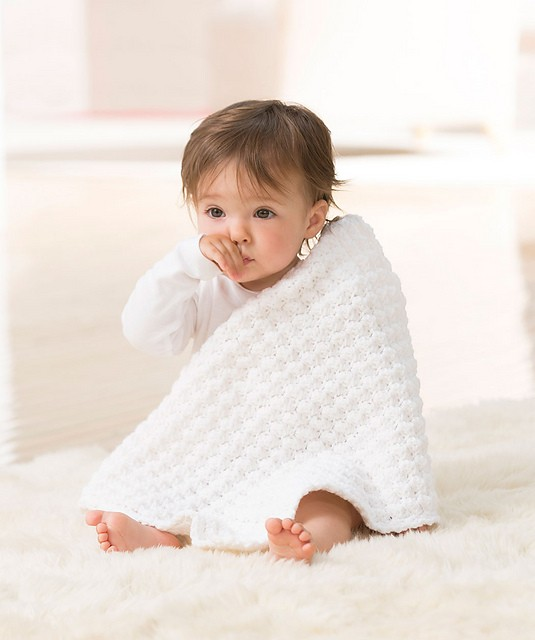 [Free Pattern] So Much Cuteness In This Soft And Easy To Make Baby Blanket