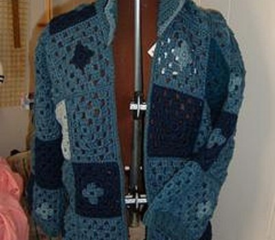 Free Pattern Simple And Amazingly Beautiful Granny Square Sweater