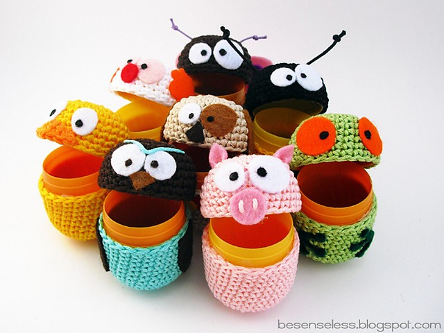 [Free Pattern] Cute Little Amigurumi Toys For Young At Heart