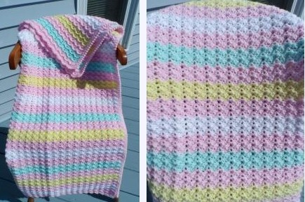 [Free Pattern] This Easy Pattern Will Make You Love Making Baby Afghans