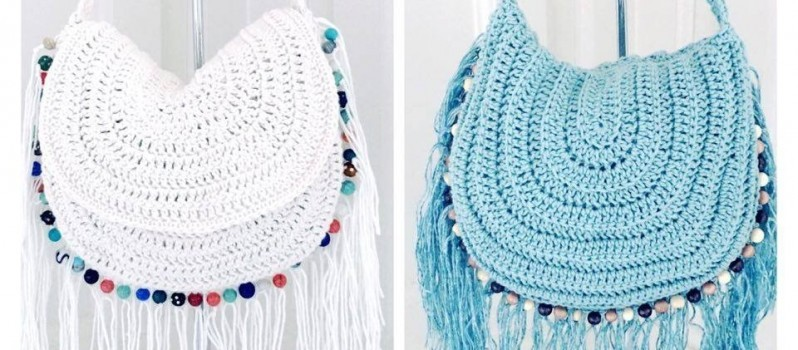 Video Tutorial Gorgeous Hippie Style Crochet Bag Knit And Crochet