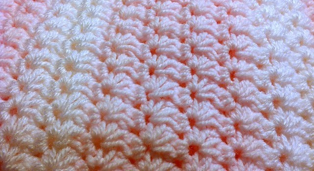 Free Pattern] Easy And Beautiful Crochet Star Stitch Baby Blanket ...