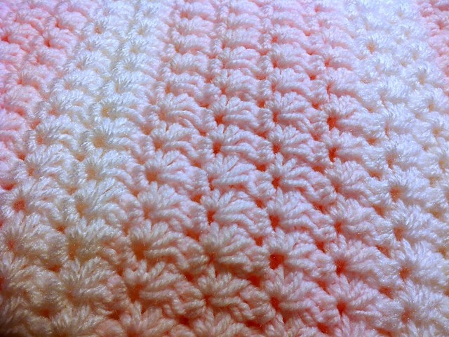 [Free Pattern] Easy And Beautiful Crochet Star Stitch Baby Blanket