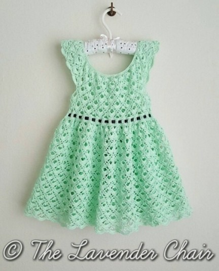 Free Pattern Adorable Lace Toddler Dress Knit And Crochet Daily