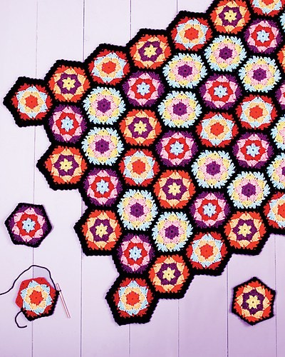 [Free Pattern] Oh, Scrap! This Easy Granny Afghan Is The Best!