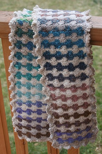 Free Pattern Brilliant Noro Catherine Wheel Scarf You Cant Resist