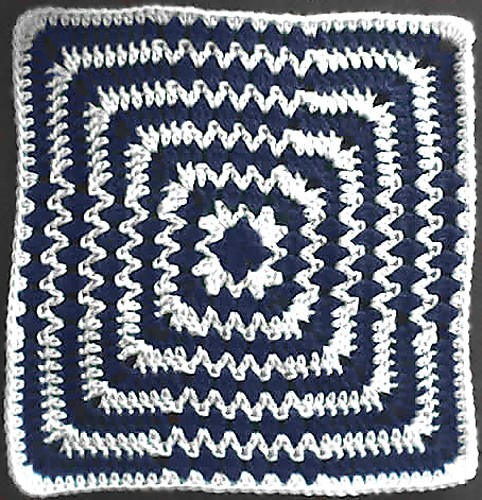 [Free Pattern] Amazing Square With Stunning Effect!