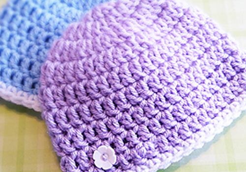 Free Pattern By Far The Easiest And Fastest Newborn Hat Knit And