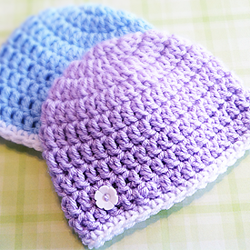 [Free Pattern] By Far The Easiest And Fastest Newborn Hat