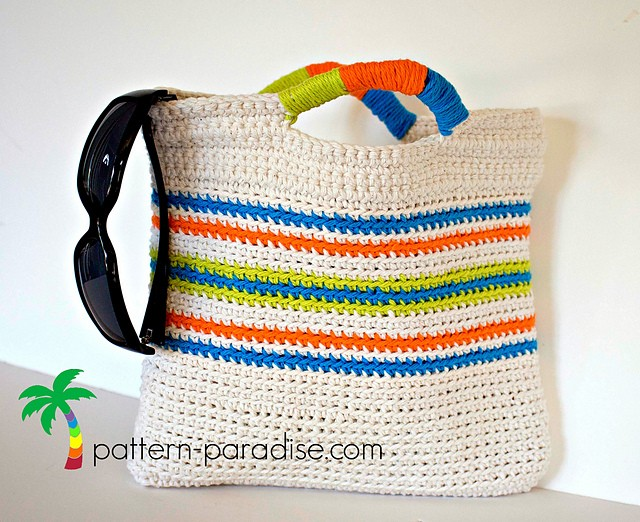 [Free Pattern] This Quick, Easy And Cute Tote Bag Is The Perfect Summer Gift For Any Girl