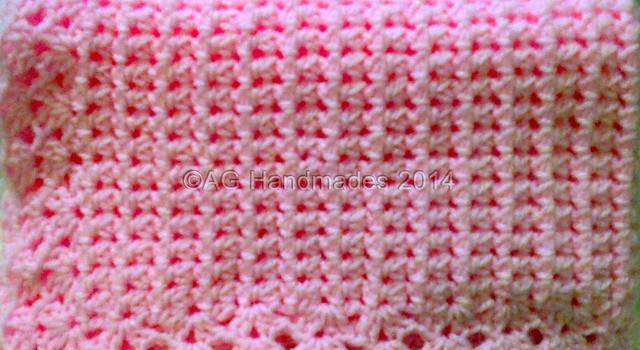 Learn A New Crochet Stitch: Aunt Aggie\'s Mesh Cluster Stitch (Baby ...