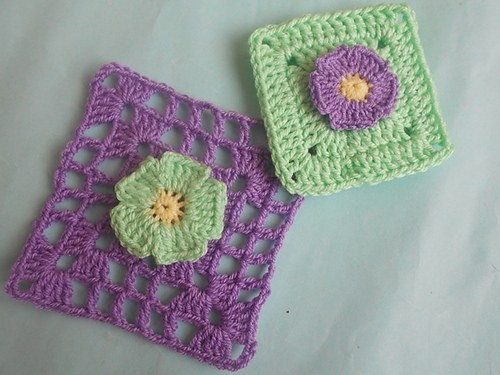 [Free Pattern] These Crochet Daisy Flower Granny Squares Look So Beautiful!