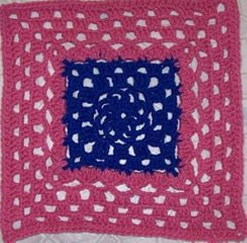 [Free Pattern] This Fabulous Block Works Up Easily And Has A Great Shape