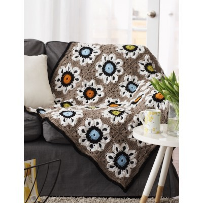 [Video Tutorial] Vintage Or Modern? Easy To Customize Amazing Flower Afghan Pattern To Suit Your Taste