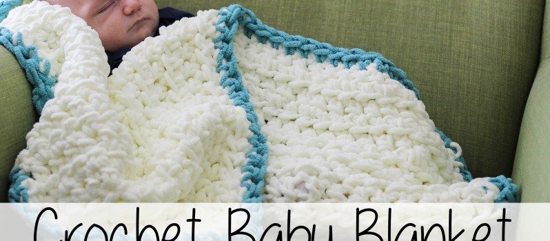 [Video Tutorial] This Super Simple Crochet Baby Blanket Is ...