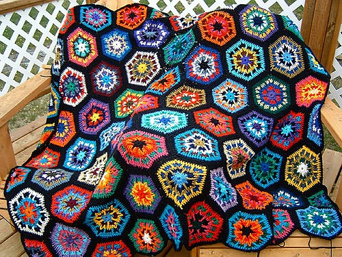 [Free Pattern] It Is Amazing What This Afghan Can Become With Some Sense Of Color